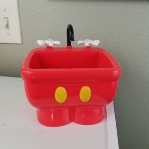 Disney Parks Mickey Sink DCA Red